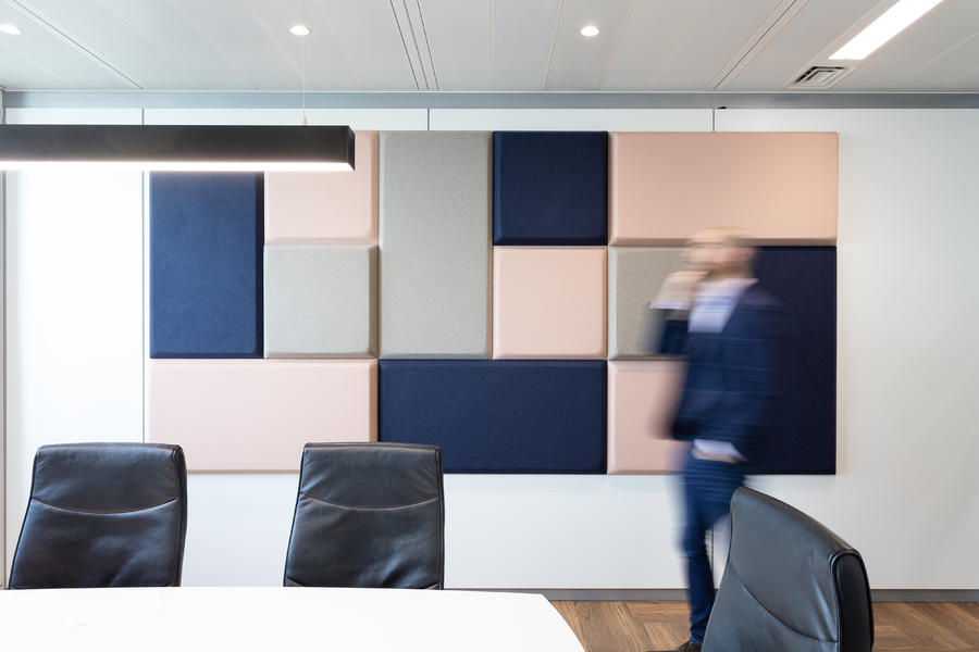 Sound panels for office acoustic treatment